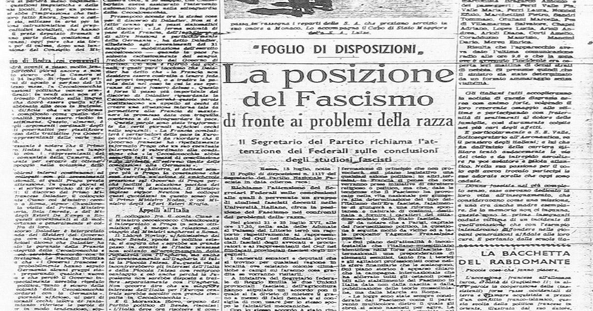 Gli intellettuali in fuga dal fascismo Leggi_razziali