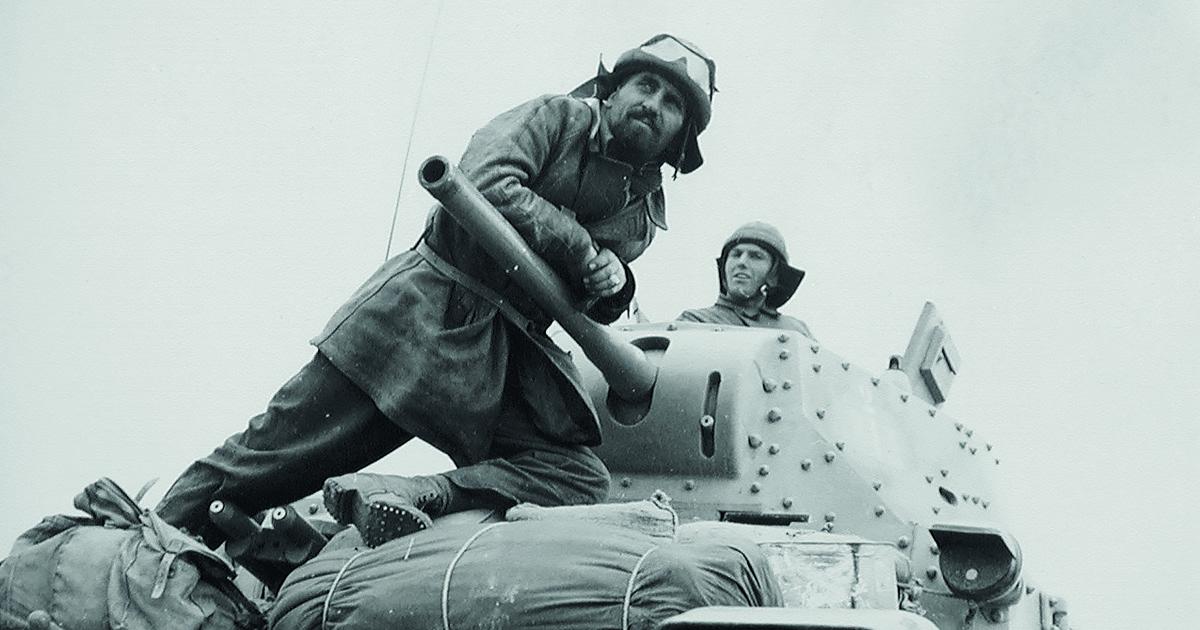 Carristi italiani. Foto: Ufficio Storico dello Stato Maggiore dell'Esercito