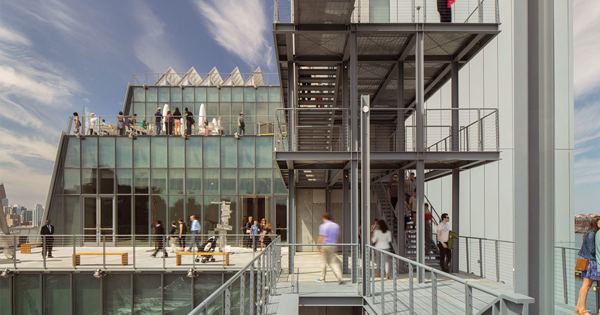 Renzo Piano Building Workshop, Whitney Museum of American Art, New York, 2015. Photo © Nic Lehoux