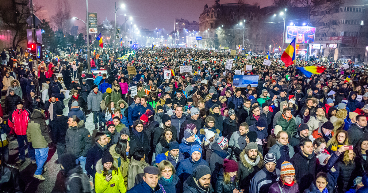 Proteste in Romania