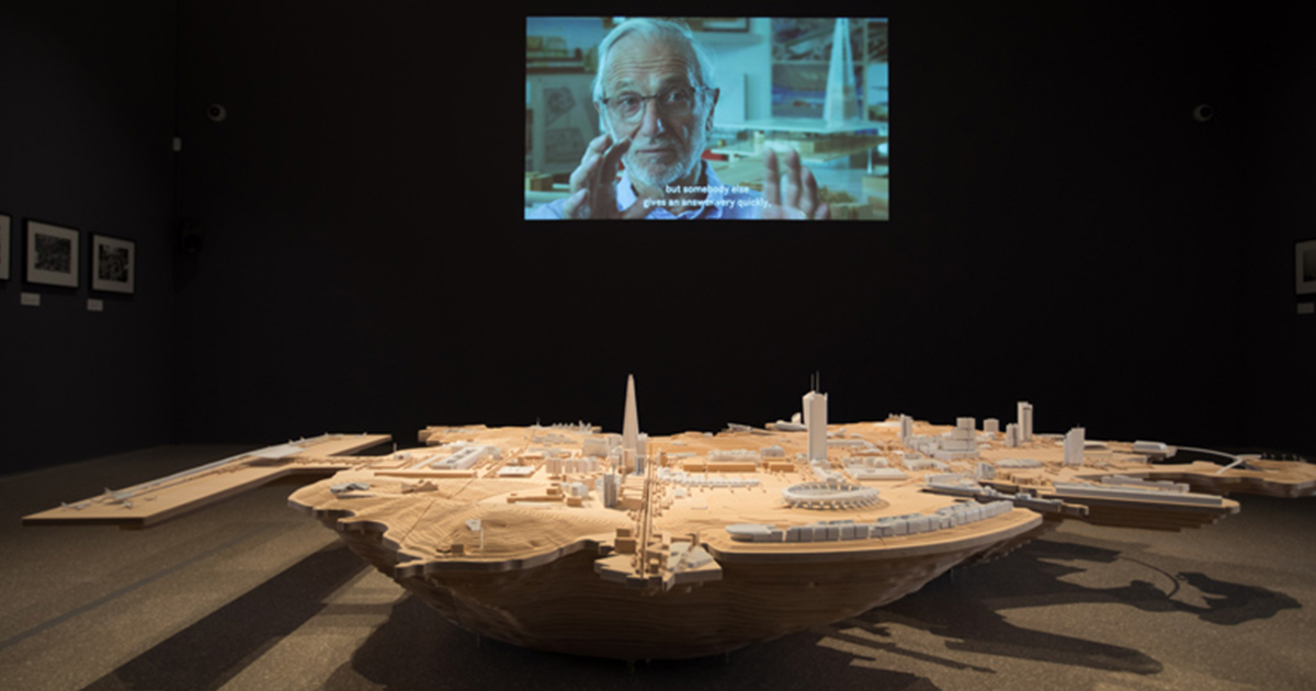 Renzo Piano  at  London's Royal Academy of Art