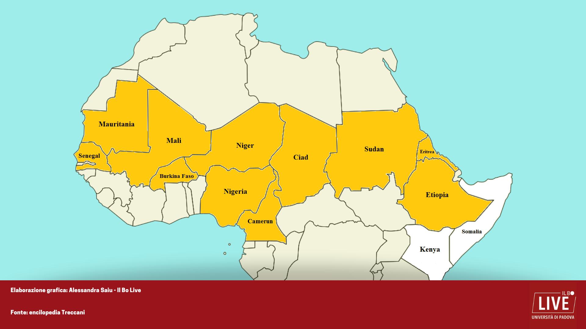 Africa Occidentale Cartina Geografica.Le Tratte Degli Schiavi Dall Africa Sub Sahariana All Africa Mediterranea Il Bo Live Unipd