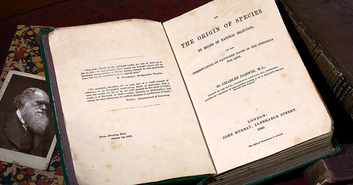 La teoria dell'evoluzione e il compleanno di Darwin Origine_specie2