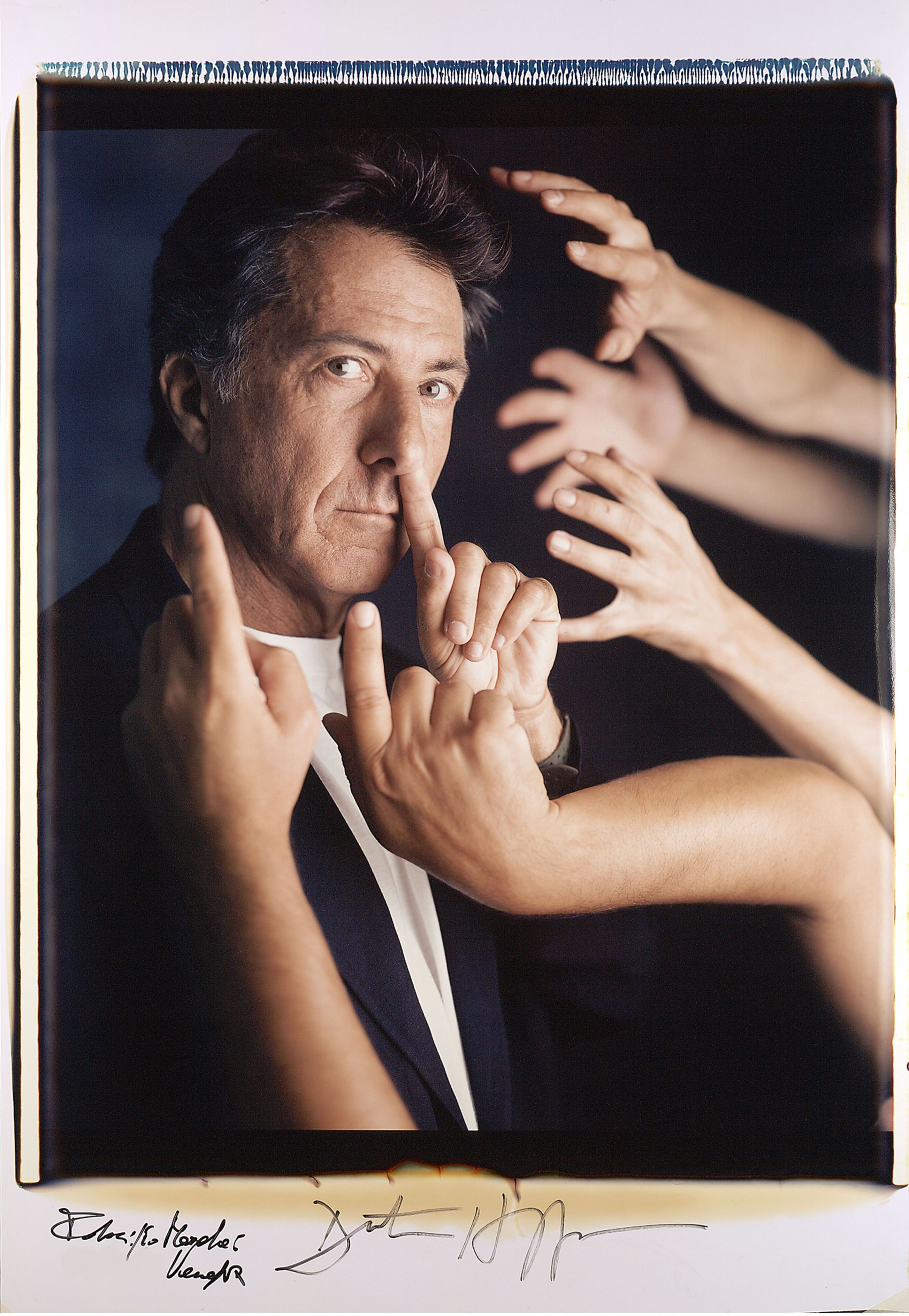Dustin Hoffman, Venezia 1996 (foto di Fabrizio Marchesi/ Photomovie)