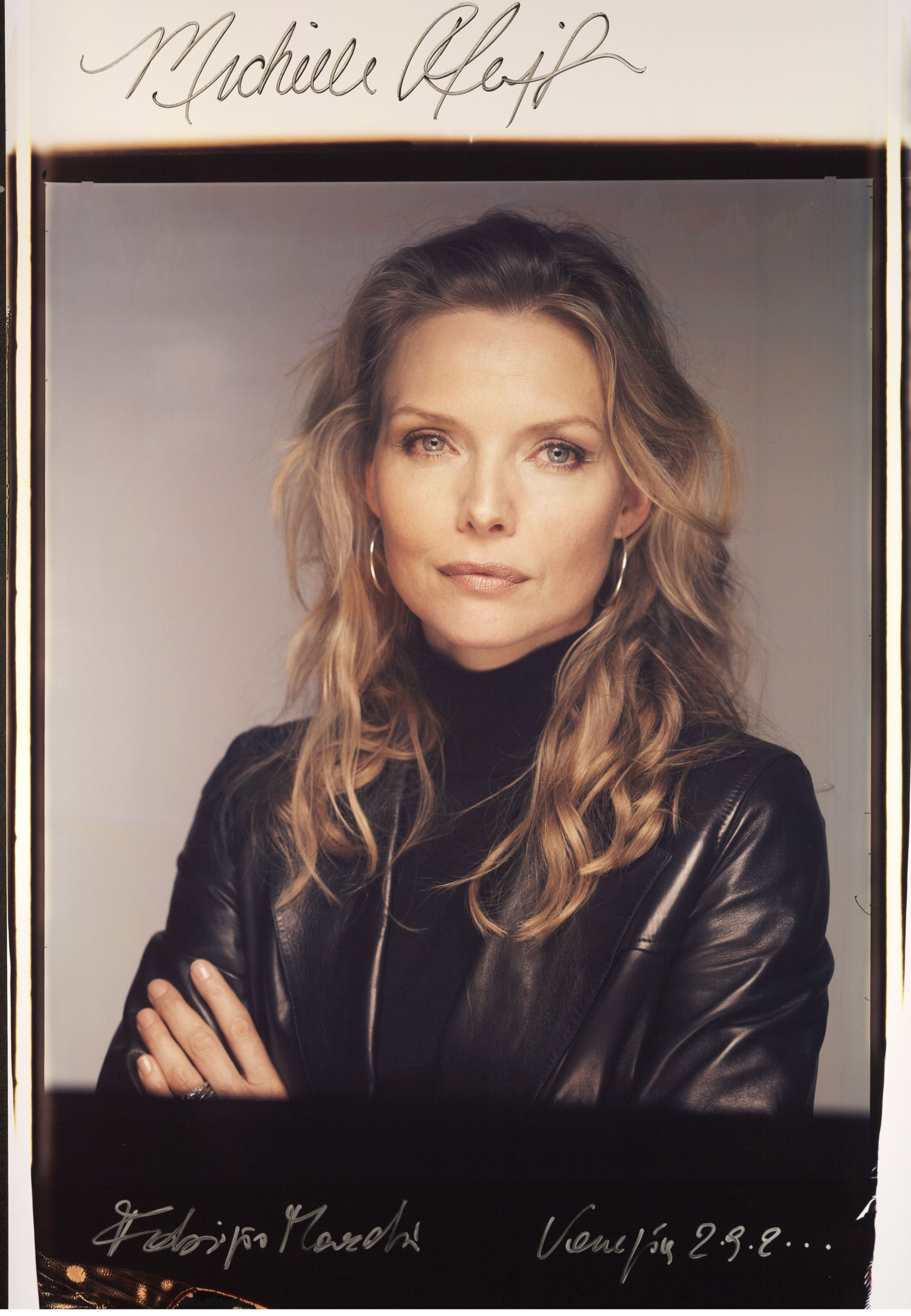 Michelle Pfeiffer; Venezia 2000  (foto di Fabrizio Marchesi/ Photomovie)