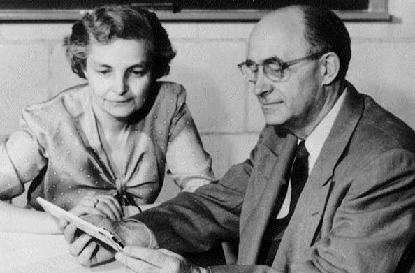 Gli intellettuali in fuga dal fascismo Laura_ed_enrico_fermi_1