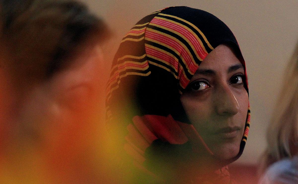 Tawakkol Karman @REUTERS/Jorge Cabrera