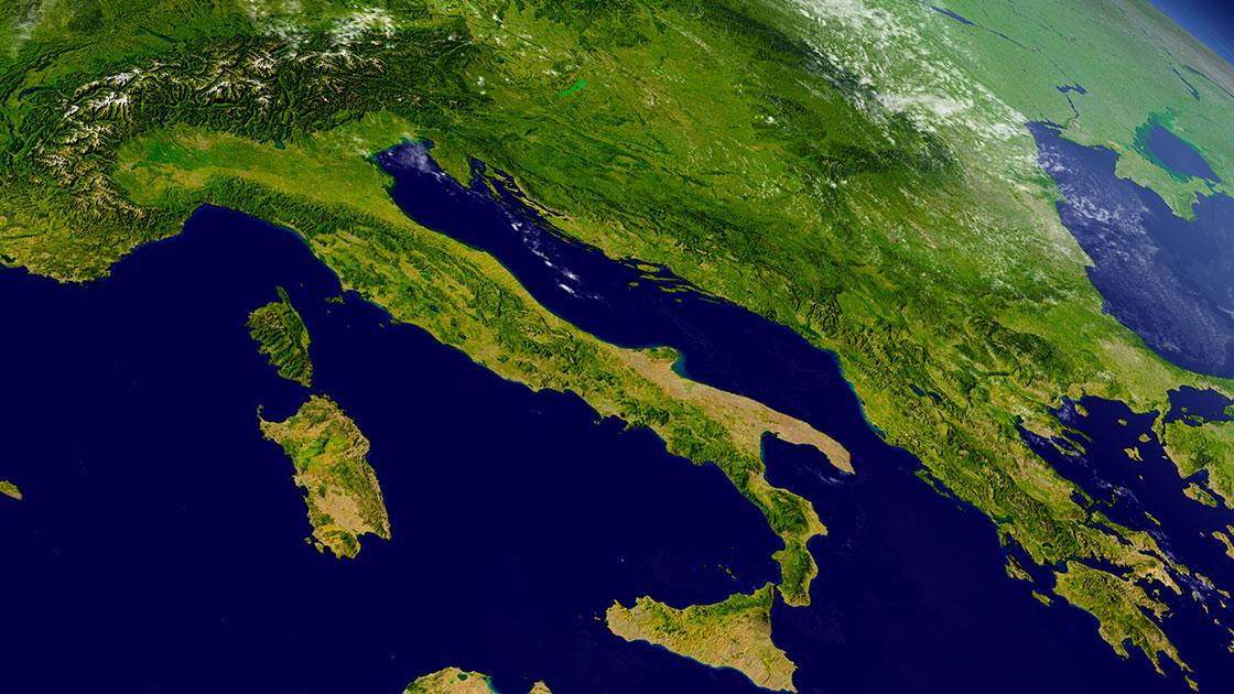 Cartina Italia Javascript.In Viaggio Nell Italia Dell Antropocene Il Bo Live Unipd