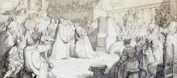 La nobile austera devota a Dio e al sapere