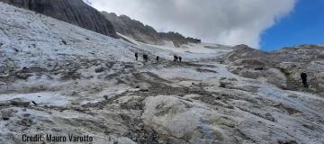 Marmolada, tra 15 anni il ghiacciaio potrebbe non esistere più