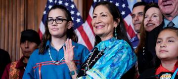 I nativi americani e il rapporto con la politica e la futura amministrazione Biden