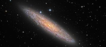 Studiata l'emissione ad alta energia proveniente da una magnetar nella galassia dello Scultore