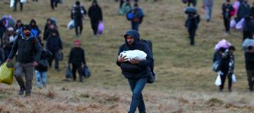 La strada dimenticata dei profughi lungo i Balcani