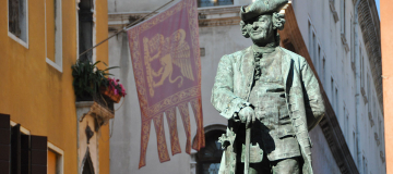 Venezia 1600. Vita girovaga d'un avvocato teatrante, Carlo Goldoni