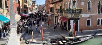 """Venezia1600. Quanto è vecchia la """"Strada Nova""""?"""