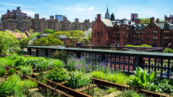 Foto High Line di New York