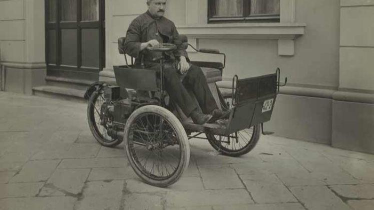 La vetturetta a scoppio di Enrico Bernardi