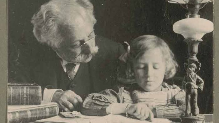 Bernardi con la nipote Ancilla
