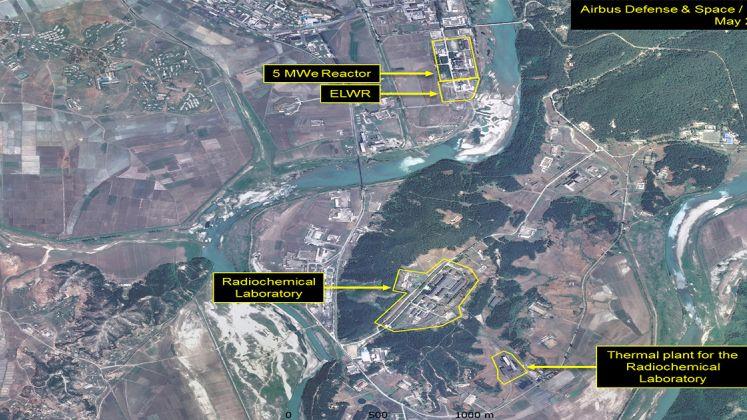 cartina siti nucleari Corea del Nord