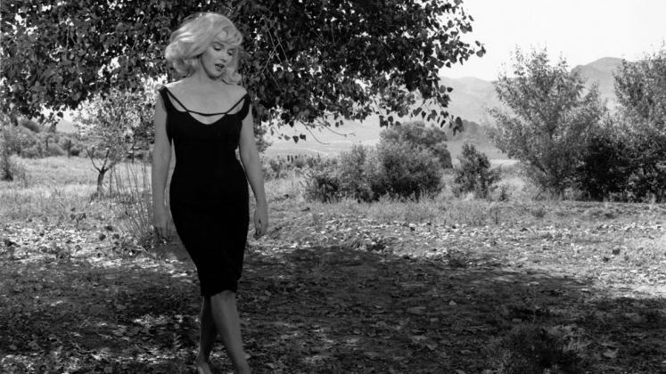Inge Morath, Marilyn Monroe sul set di