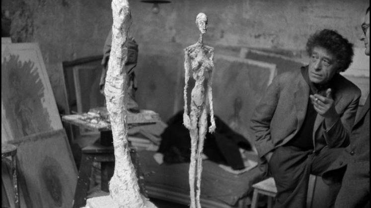 Inge Morath, Alberto Giacometti nel suo studio, 1958 ©Fotohof archiv/Inge Morath/ Magnum Photos